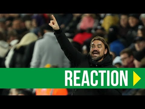 Swansea City 1-4 Norwich City: Daniel Farke Reaction