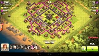 Raz IVS Clash of clans 2015 05 15 Atk HDV9 Cristal2 Cochons