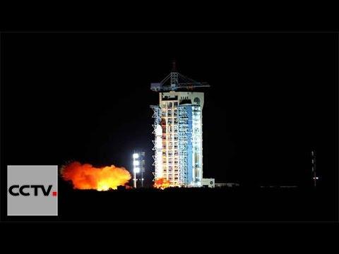 China launches world