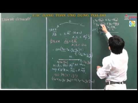 Hình học 10 Vectơ Các dạng toán ứng dụng tọa độ