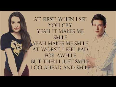 Glee 1x12 - Smile (Lily Allen) [with lyrics]