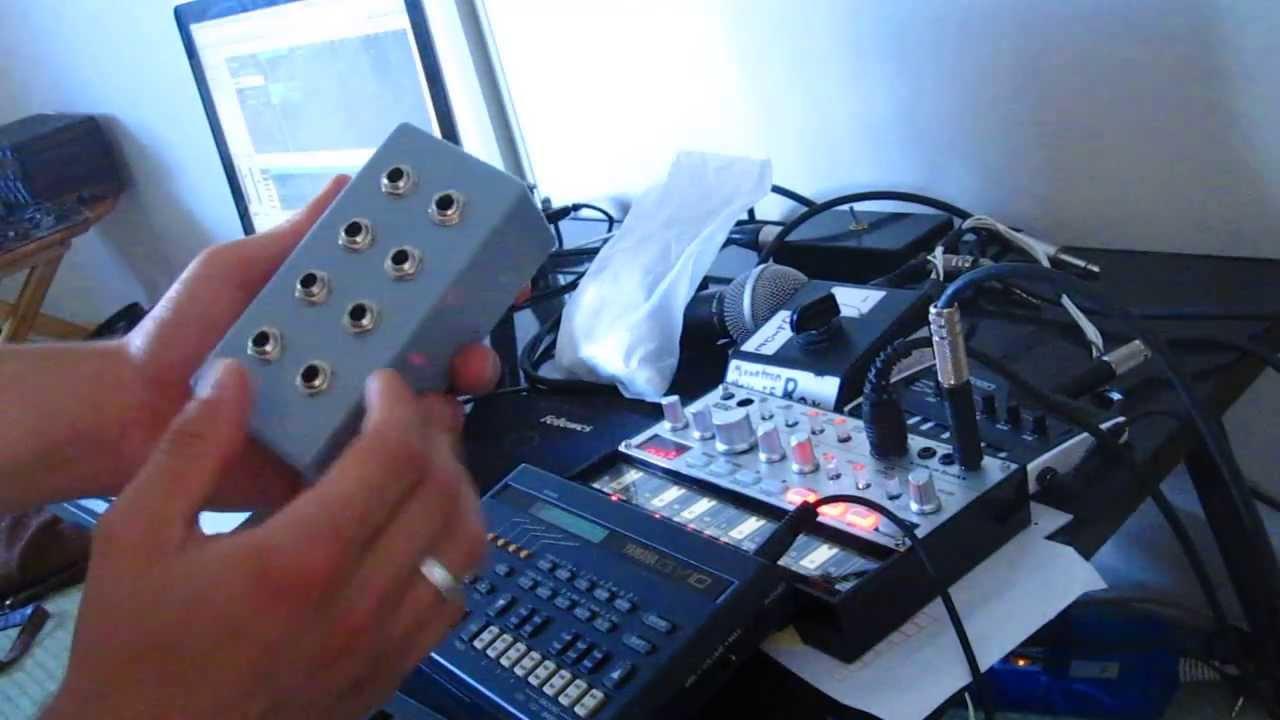 Simple Passive Diy Audio Mixer Demo