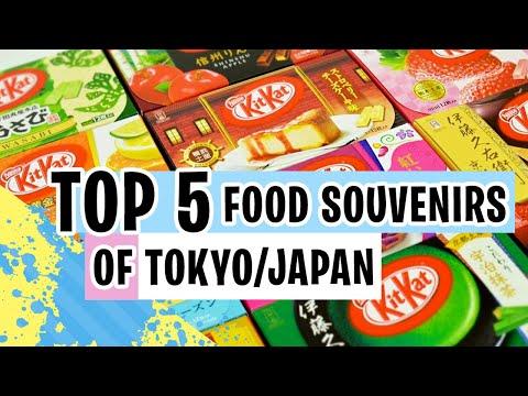 Top 5 Food Souvenirs of Japan/Tokyo