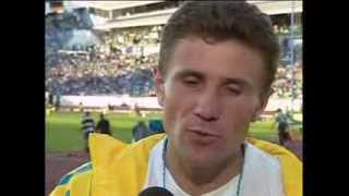 Sergey Bubka Gold(5 92),1995 World Championshis (with interview) HQ