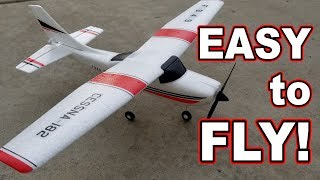 Easy Trainer RC Plane // WLToys F949 ✈️👍