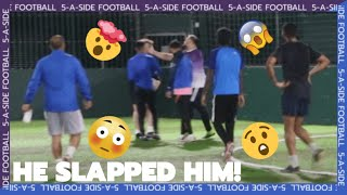 😱 THINGS GET CRAZY! | WEDNESDAY NIGHT FOOTBALL | 5-A-SIDE FOOTBALL |
