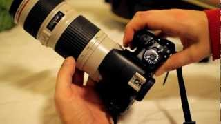 видео Canon EF 70-200mm f/2.8 L IS II USM