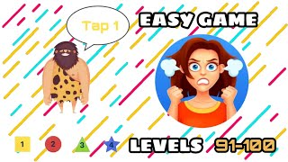 Easy Game - Brain Test & and Tricky Mind Puzzle level 91 92 93 94 95 96 97 98 99 100 walkthrough