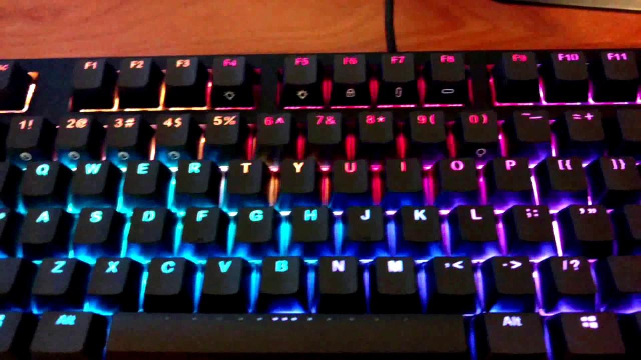 IKBC MF-87 mechanical keyboard Unboxing