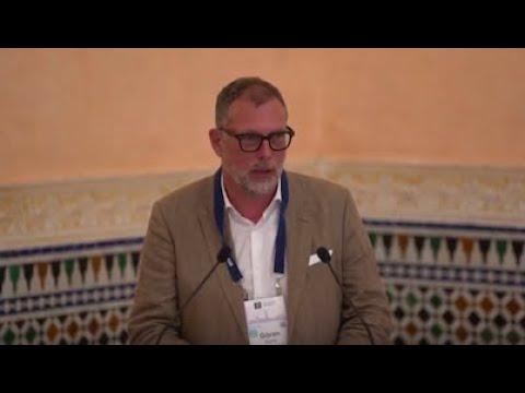 ICANN President & CEO Göran Marby at ICANN65 Ethos Award Ceremony