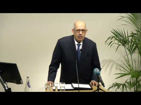 Centenary Lecture: Dr Mohamed ElBaradei, Nobel Peace Prize winner, SOAS University of London
