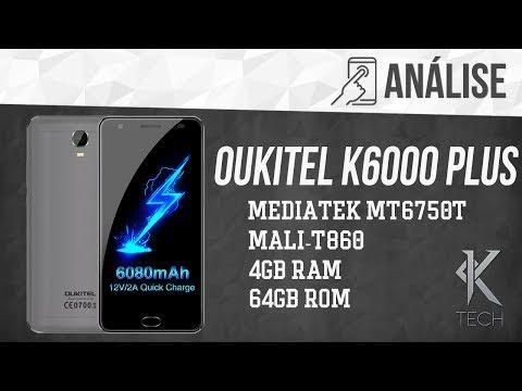 Uma das maiores baterias do mundo - Review [ Análise ] Oukitel K6000 Plus