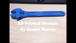 3D Printing #8 - Ultimaker 3 - Wrench - Test Print