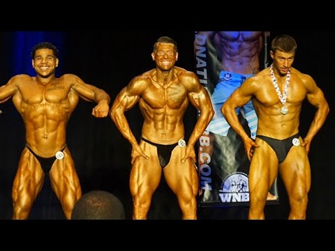 Heavyweight Prejudging 2016 WNBF WA State Natural
