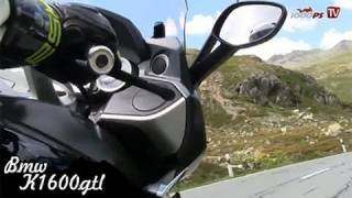 BMW K 1600 GTL Test - High Bike Paznaun  Ischgl