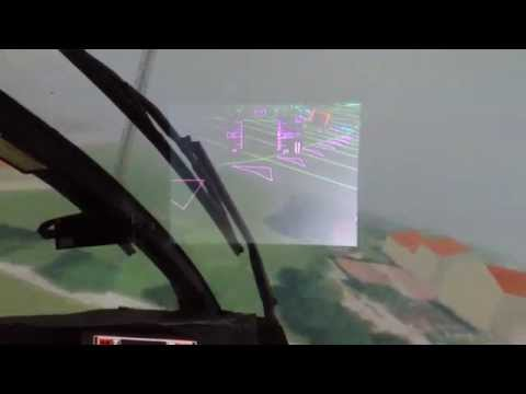 Helicopter Flight: Visual Augmentation with Head Mounted Display (HMD)