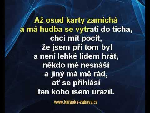 Karaoke klip Kola pop-music se točí dál - Karel Zich