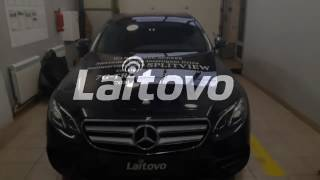 Laitovo car sunshades Installation Mercedes Benz E klasse W213