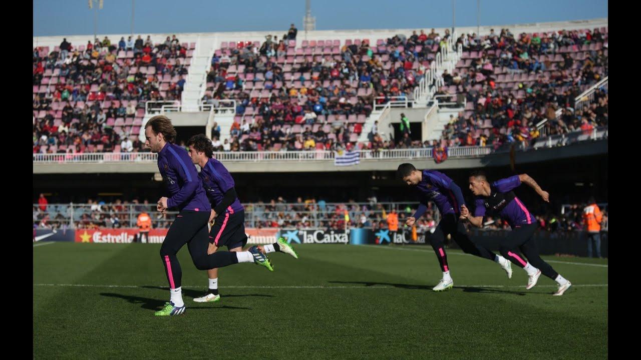 Download FC Barcelona - Open doors training session [FULL VIDEO]