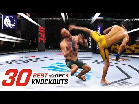 EA Sports UFC 3 - Top 30 Best Knockouts #2