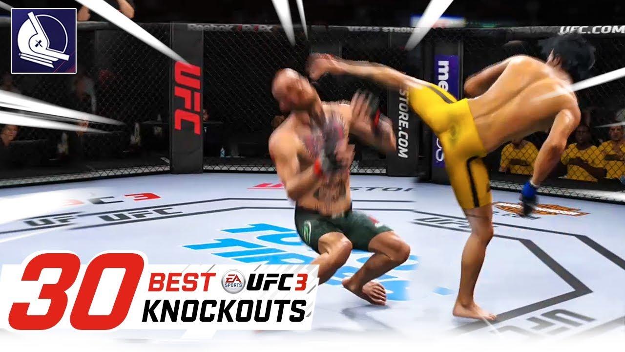 EA Sports UFC 3 – Top 30 Best Knockouts #2