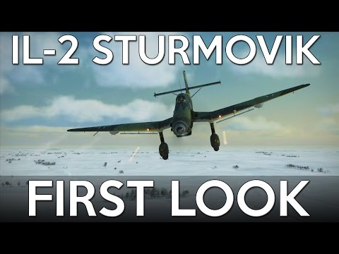 First Look - IL-2 Sturmovik (Battle of Stalingrad)