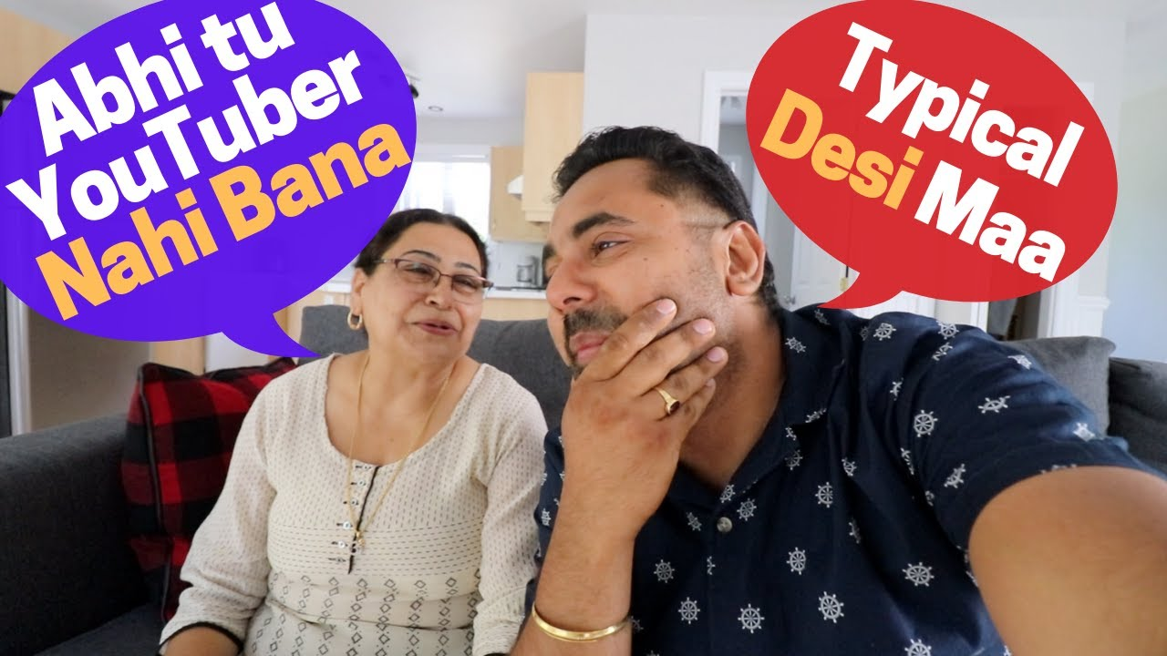 My Mom Rating My 2 Year LOSS MAKING YouTube CAREER !