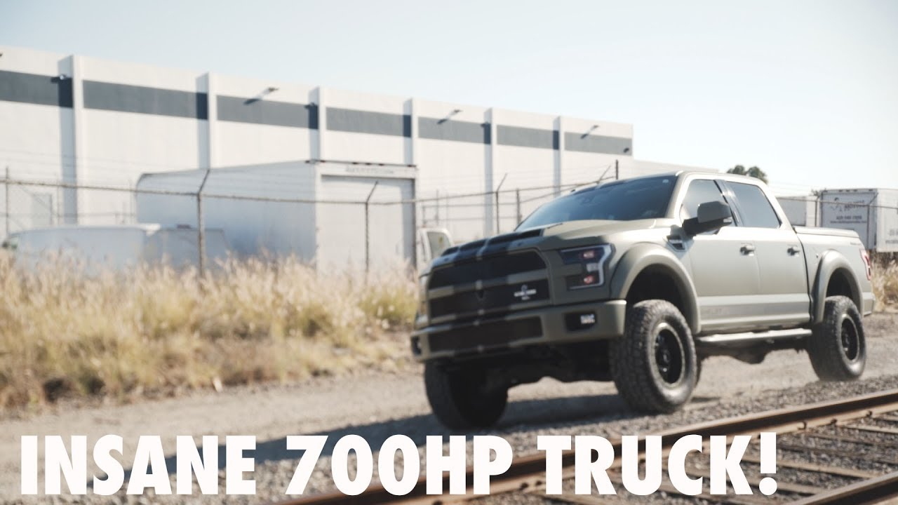 700hp Shelby F150 >> 700hp BEAST - SHELBY F150 TRUCK by SD Wrap - YouTube
