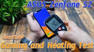 Asus Zenfone 5Z Gaming and Heating Test : in Telugu ~ Tech-Logic