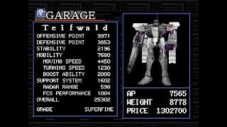 Having fun with ACE's Teifwald - Armored Core Master of Arena