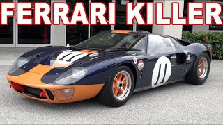 1966 Ford GT40, is this a Ferrari Killer?  Eric Johnson and Kevin: 88 MPH