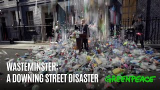 🌎  Greenpeace | Wasteminster: A Downing Street Disaster 🇬🇧  | Campaña plásticos 2021 | English SUB
