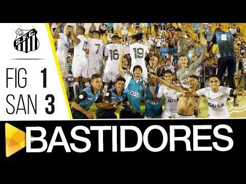 Figueirense 1 x 3 Santos | BASTIDORES | Copa SP (13/01/18)