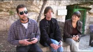 Danny and Ronnie Wyatt back in Israel: Zedekiahs cave