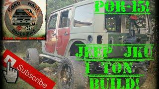 JEEP JKU 1 TON BUILD PART 6