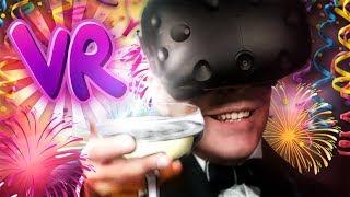 SYMULATOR RZUCANIA STOŁAMI VR (HTC Vive Virtual Reality)