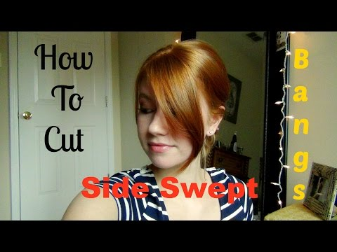 Thumbnail: How To Cut Your Own Side Swept Bangs!