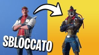 FINALLY I UNLOCKED the LUPO VERSION of the FINAL SKIN!!! Fortnite Season 6