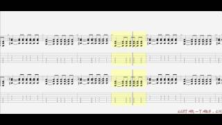 Avenged Sevenfold Tabs - Afterlife (rhythm)