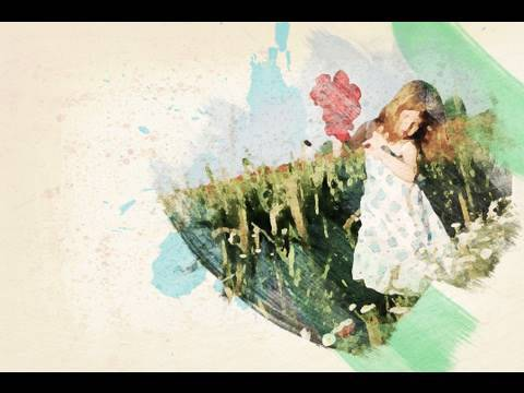 Tutorial Photoshop Francais Effet Aquarelle Youtube