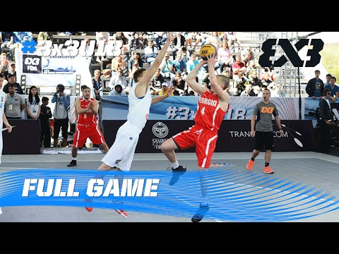 Italy vs. Georgia - Men´s Quarter-Final - 2016 FIBA 3x3 U18 World Championships