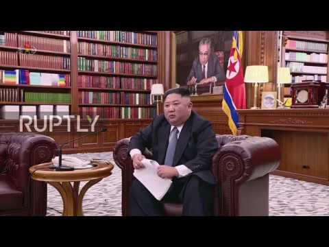 "North Korea: ""We can make the Korean Peninsula the most peaceful"" - Kim Jong Un"