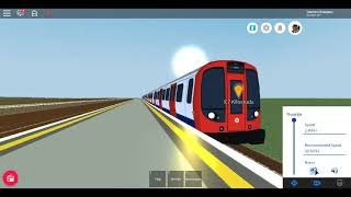 Roblox New Mind The Gap MTG Subway S7 Stock Sub-Surface Limford to Etherley
