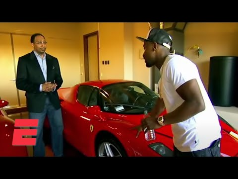 Stephen A. gets a tour of Floyd Mayweather's mansion & luxury car collection | ESPN Archive