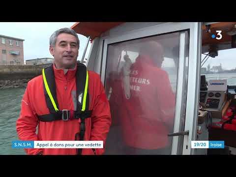 La SNSM de Brest appelle aux dons pour remplacer sa vedette