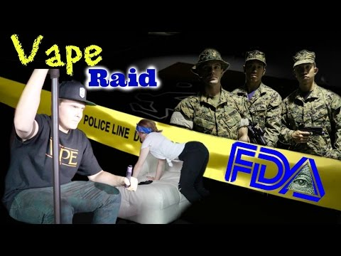 FDA Cops Raid Vape shop episode 1