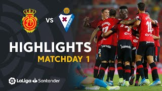 Highlights RCD Mallorca vs SD Eibar (2-1)