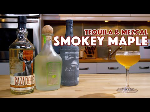 🔞 Smoky Maple Tequila & Mezcal Cocktail