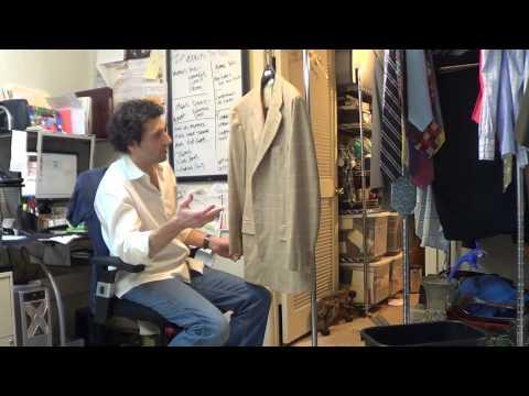 y4558 Kiton Napoli 100% Cashmere Blazer Sport Coat Jacket 42 R