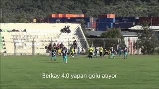 Berkay Namaz 4 .0 yapan golü atıyor